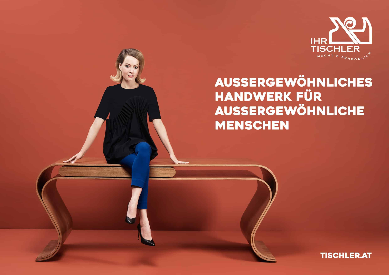 neue kampagne f r die tischler wko tischler. Black Bedroom Furniture Sets. Home Design Ideas